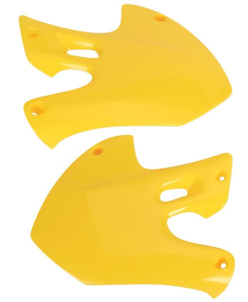 UFO Replacement Plastic Radiator Shrouds/Covers RM Yellow (SU03903101)