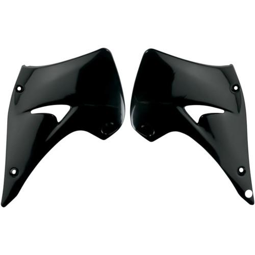 UFO Replacement Plastic Radiator Shrouds/Covers Black (KA03738-001)