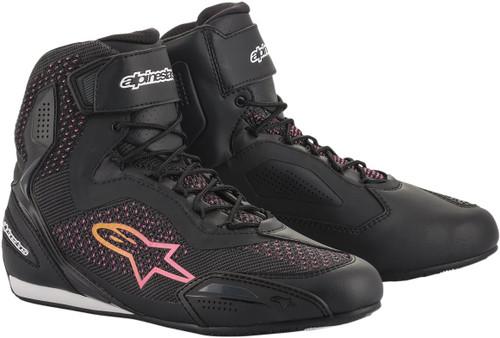 Alpinestars Stella Faster-3 Rideknit Womens Motorcycle Shoes
