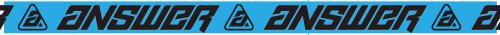 Answer Track Tape Blue/Black (0408-0851-0000)