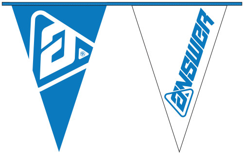 Answer Pennant Flags Blue/White (0408-0852-0000)