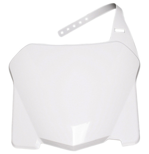 Acerbis Front Number Plate White (2113620002)