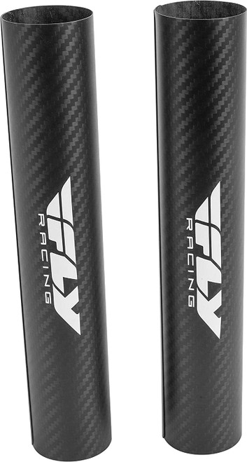 Fly Racing Carbon Fiber Lower Fork Wrap 45mm x 220mm Black (567-1905)