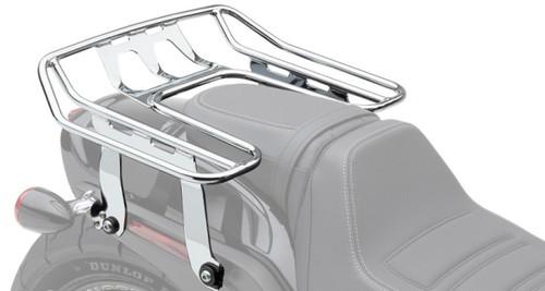 """Cobra Big Ass Detachable Wrap Around Luggage Rack Chrome 13"""" x 18"""" (502-2612)"""