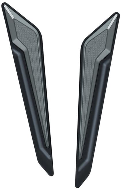 Kuryakyn Omni LED Fork Inserts Black (3252)