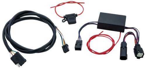 Kuryakyn 4 Wire Trailer Wiring and Relay Harness (2596)