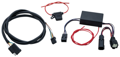Kuryakyn 4 Wire Trailer Wiring and Relay Harness (2598)