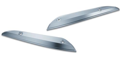 Kuryakyn Chrome Windshield Side Trims for '15-'20 Harley Road Glide (2632)