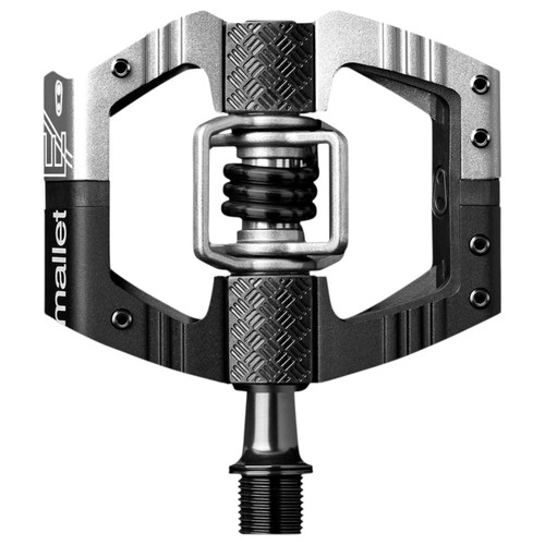 Crankbrothers Mallet E Black/Silver MTB Mountain Bike Pedals (16247)