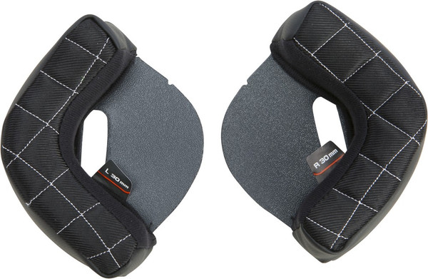 Fly Racing .38 Retro Replacement Cheek Pads For XS-LG Helmet