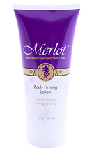 Merlot Body Firming Lotion works to firm and hydrate while improving skin's elasticity and tone with natural grape seed polyphenols.