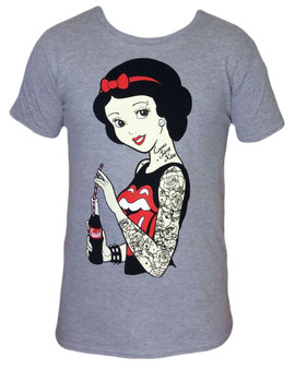 Twisted Rockabilly Snow White Tatoo T-shirt