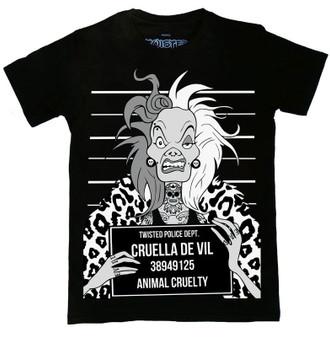 Cruella Mugshot T Shirt