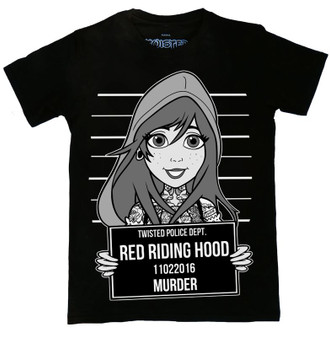 Red Riding Hood Tattoo Mugshot T Shirt