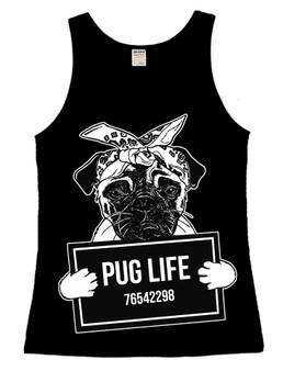 Pug Life Ladies Vest