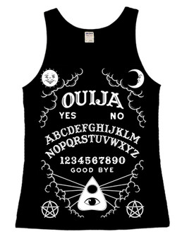 Ouija Board Ladies Vest Top