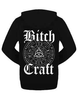 Bitch Craft Occult Zipped Hoodie