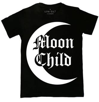 Moon Child Contrast T Shirt
