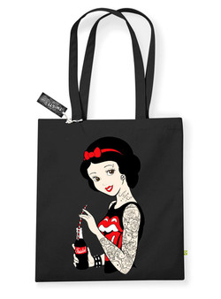 Tattoo Rockabilly Snow White Tote Bag
