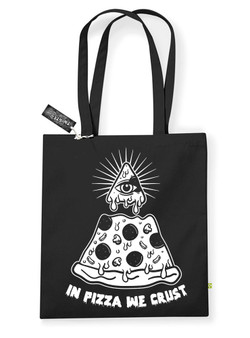 In Pizza We Crust Tote Bag