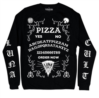 Pizza Ouija Long Sleeve T Shirt