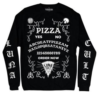 Pizza Ouija Long Sleeve T Shirt