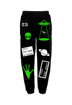 Alien Mashup Sweatpants