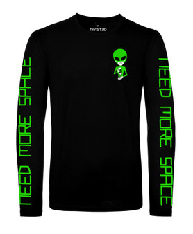 Need Space Long Sleeve T Shirt