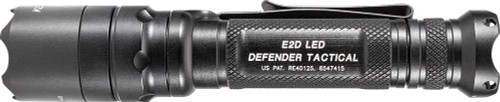 SureFire E2D Defender Ultra Single-Output LED Flashlight, Black (E2DLU-T)
