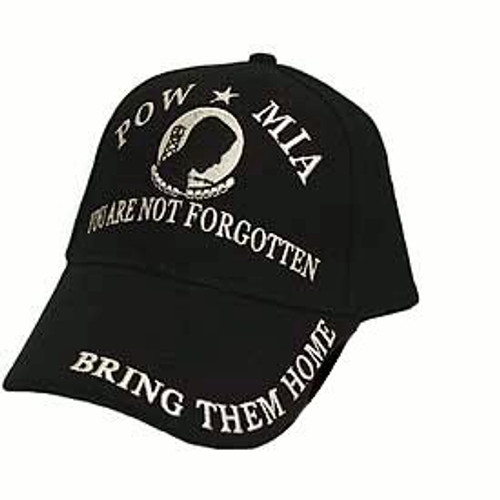 POW-MIA Bring Them Home Embroidered Baseball Style Cap