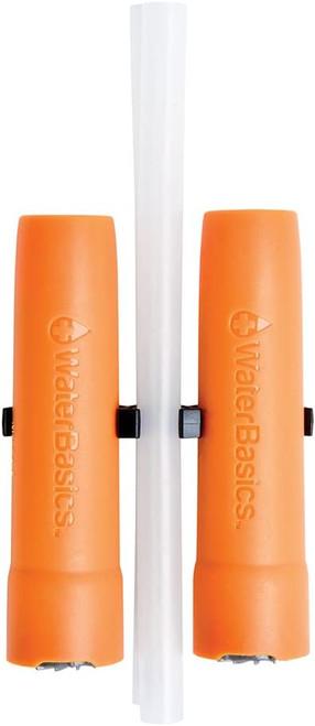WaterBasics Emergency Straw Filter 2pk. (BLU-I-30)
