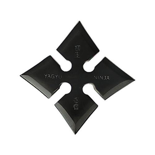 "4 Point  4"" Diameter Black Star"
