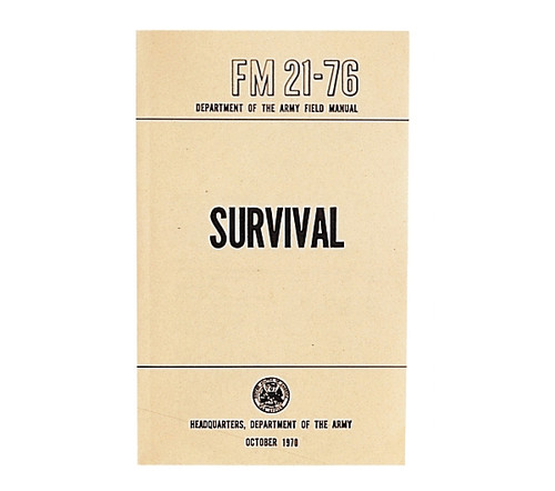 US Army Survival Manual - FM 21-76