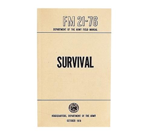 US Army Survival Manual - FM 21-76