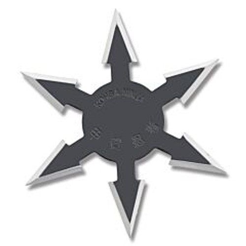 Aeroblades 6 Point Star Black 4 Inch with Nylon Pouch