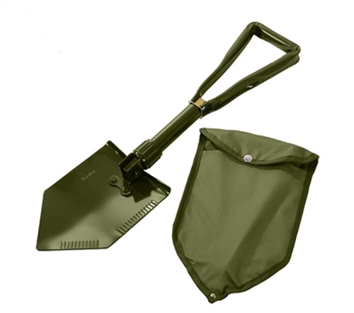 Rothco Deluxe Tri-fold Shovel With Cover