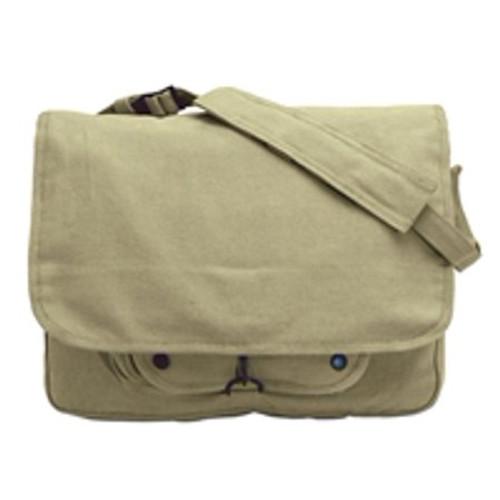 Rothco Khaki Vintage Paratrooper Shoulder Bag