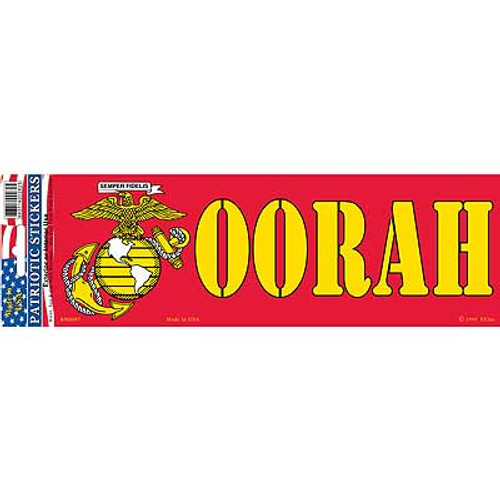 Bumper Sticker USMC OORAH
