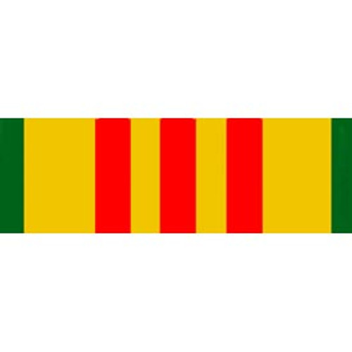 Bumper Sticker Vietnam Service Ribbon