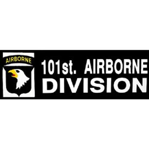 Bumper Sticker 101st Airborne Division
