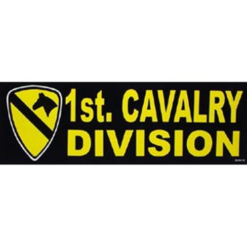 Bumper Sticker 1st Cavalry Division