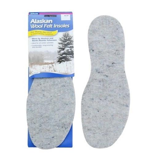 Alaskan Wool Felt Insoles