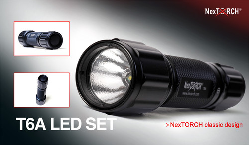Nextorch T6A LED Flashlight Kit