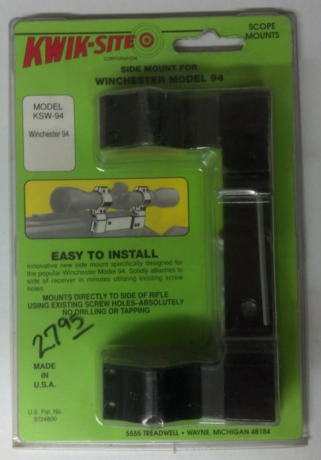 Kwik-Site Winchester 94 Side Scope Mount
