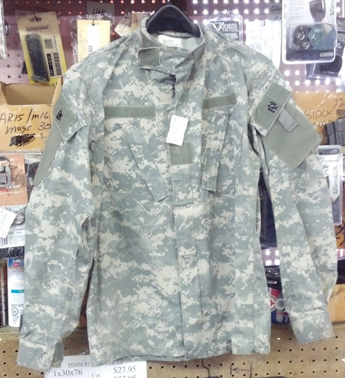 Army Combat Uniform Shirt (ACU) Used Excellent Cond