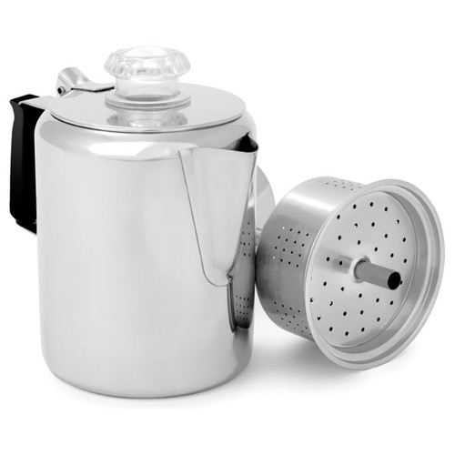 Stainless Steel 12 Cup Percolator Coffee Pot