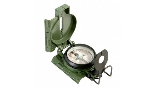 Genuine GI Lensatic Tritium Compass