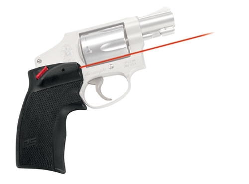 Crimson Trace Defender Series Accu-Grips Laser S&W J-Frame