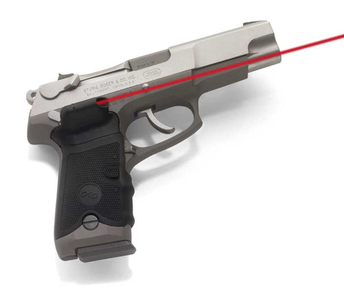 Crimson Trace Lasergrip Ruger P Series Semi Automatics Overmold Rubber Black