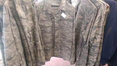 Shirt USAF ABU Camo Size 42L Used Excellent Condition
